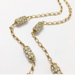 J. Crew Long Gold Necklace